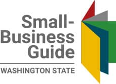 Logo for the Small Business Guide of Washington State